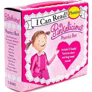 Pinkalicious 12-pack phonics books